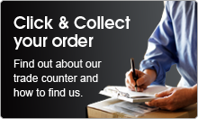 Find out about our trade counter and how to find us