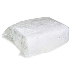 10kg Reclaimed White T-Shirts Rag Bag