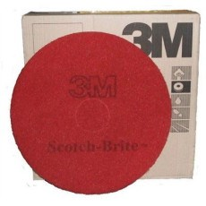 3M Premium Red Floor Pads 21""