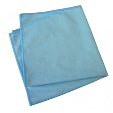 40cm Microfibre Glass Cloth Blue