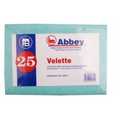 Abbey Velette Antibacterial Cloths (25)