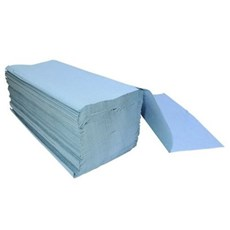 Blue Interfold 1-ply Hand Towels (3600)