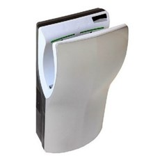 "D-Flow White ""Hands-in"" Hand Dryer"