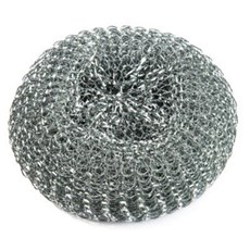 Large Galvanized Scourers (10)