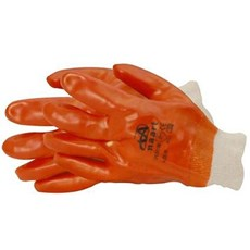 PVC Knit-Wrist Gloves