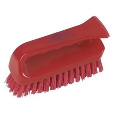 Red Grippy Hygiene Scrub Brush