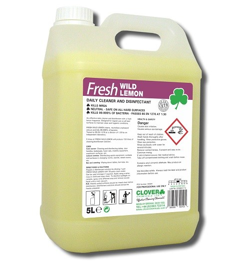 Fresh Wild Lemon Disinfectant 5litre (202)