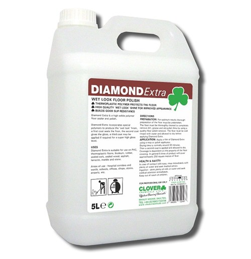 Diamond Extra Floor Polish 5litre (109)