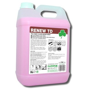 Renew TD - Polymer Floor Maintainer 5litre (104)