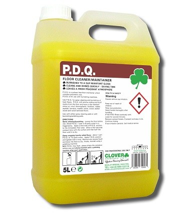 PDQ Floor Cleaner / Maintainer 5litre (110)