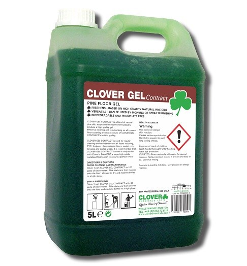Clover Gel Floor Cleaner 5litre (401)