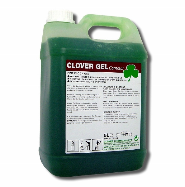 Clover Gel Contract High Active Pine Floor Gel Click