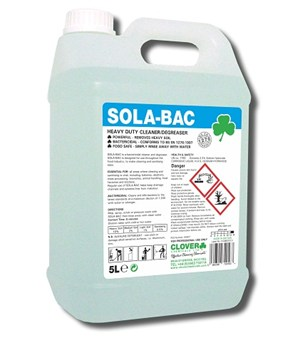 Sola Bac - Bactericidal Cleaner 5litre (319)