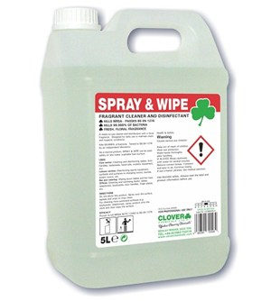 Spray & Wipe Bactericidal Fragrant Cleaner 5litre (211)