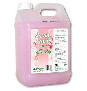Savon Pearle - Luxury Pearlised Hand Soap 5litre (402)