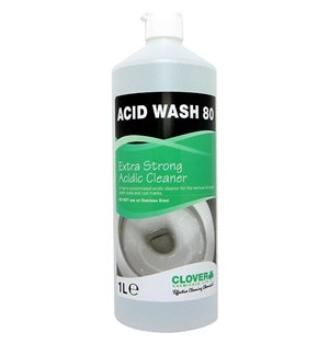 Acid Wash 80 - Extra High Strength Acidic Descaler 1 litre (502)
