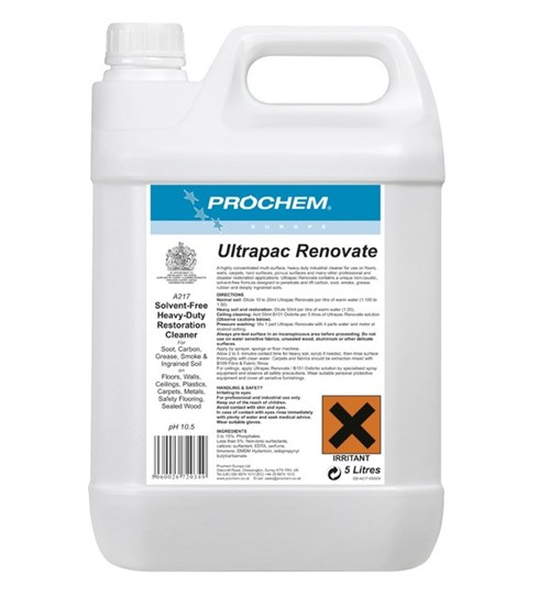 Prochem Ultrapac Renovate Click Cleaning Uk
