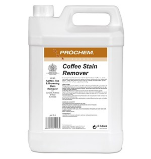 Prochem Coffee Stain Remover 5litre (B195)