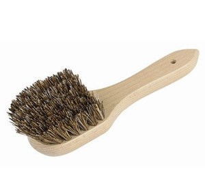 Sink Brush with Wooden Handle