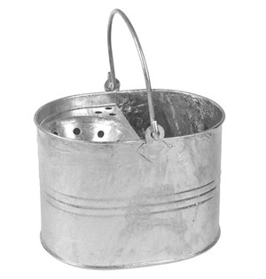 DISCONTINUED - SYR Galvanised Mop Bucket
