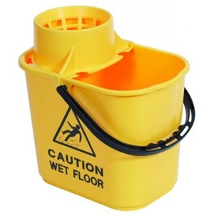 Yellow Professional Mop Bucket