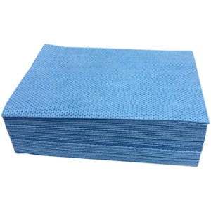 Abbey Velette Cloths (pack of 25) - Blue
