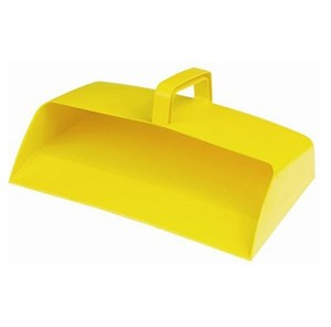 Large Plastic Dustpan Yellow