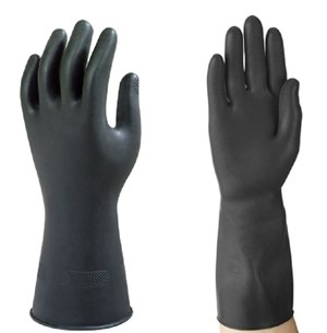 Pro-Guard Industrial Heavyweight Black Strong Gloves (pair)
