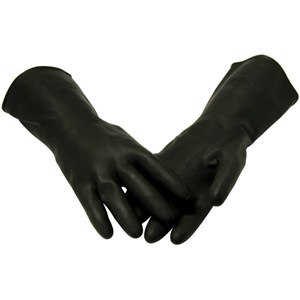 Marigold Heavy-Duty Black Gloves