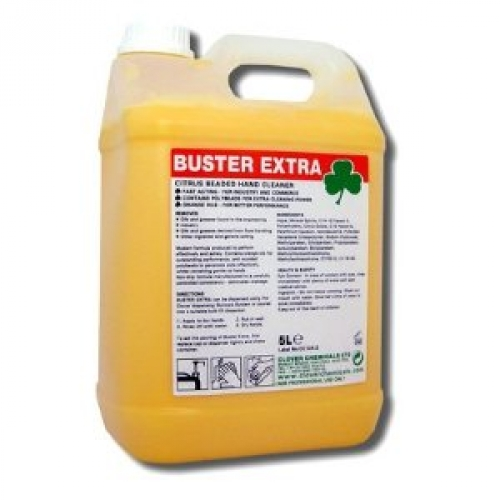 Buster Extra - Citrus Beaded Hand Cleaner 5litre