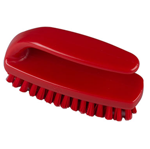 Red Grippy Nail Brush