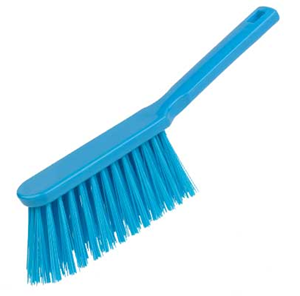 Stiff Hand Brush Blue