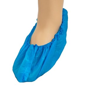 Blue Shoe Covers - 50 pairs