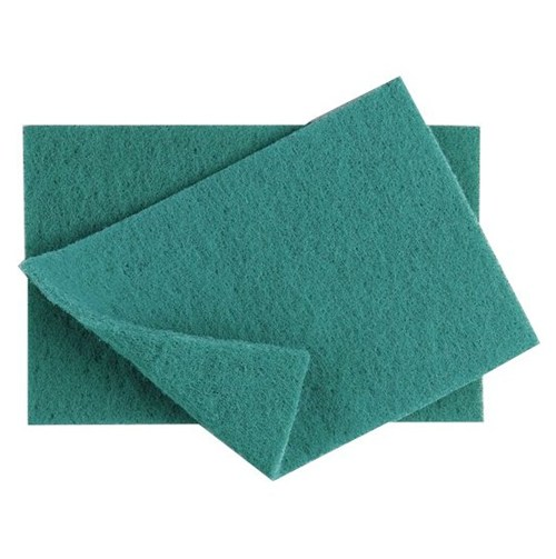 Nylon Green Scourers (pack of 10)