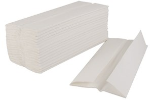 White LuxuryC-fold Hand Towels (2400)