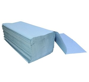 Blue Interfold 1ply Hand Towels (3600)