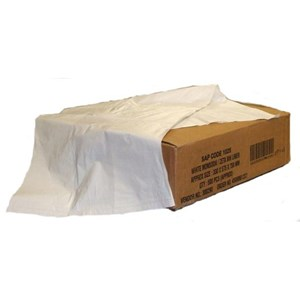 White Premium Square Bin Liners 24x24 (Box of 1000)