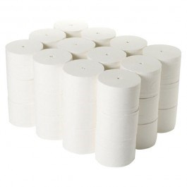 Coreless White Toilet Roll 100m x 36 rolls