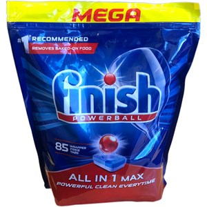 Finish All-in-one Max Dishwasher Tablet (85/pack)