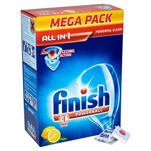 Finish All-in-one Powerball - 78 Pack