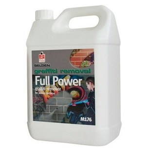 Selden Full Power Graffiti Remover for Porous Surfaces 5-litre (M176)