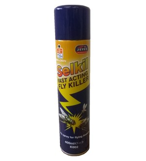 Selden Selkil Fly Spray 400ml (K002)