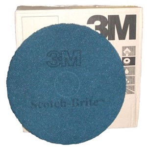 "3M Premium Blue Floor Pads 15"" (single)"