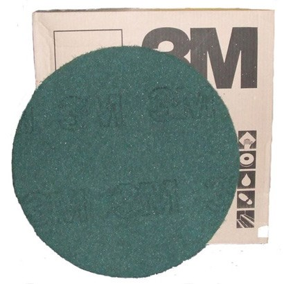 "3M Premium Green Floor Pads 15"" (single)"
