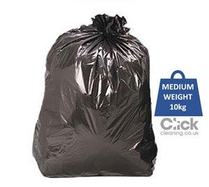 "Quattro Medium Duty Refuse Sacks 10kg 29"" x 37"" (200)"