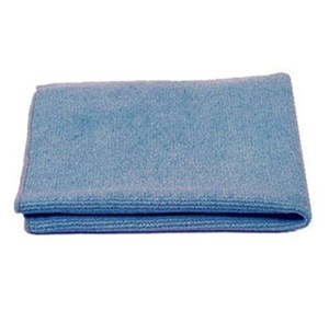 Blue Premium Microfibre Cloths 40x40cm (pack of 10)