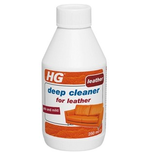 HG Deep Cleaner for Leather 250ml