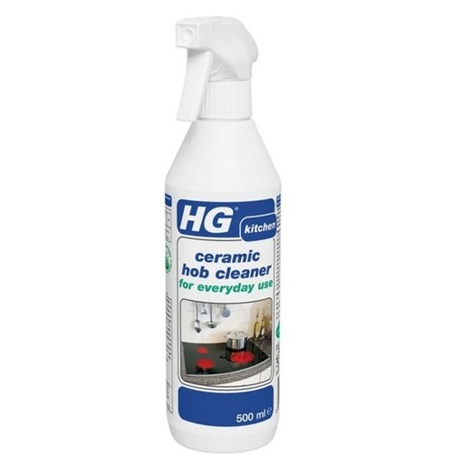Hg Ceramic Hob Cleaner 500ml: HG Hagesan Ceramic Hob Daily Cleaner