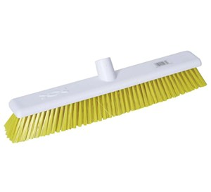 "Abbey 18"" Stiff Broom - Yellow"