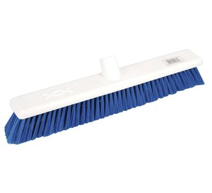 "Abbey 18"" Soft Broom Head - Blue"